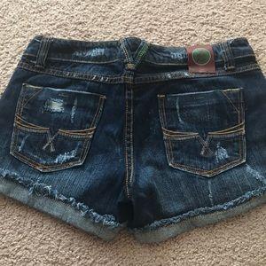 Velvet Heart Jean Shorts Size 27